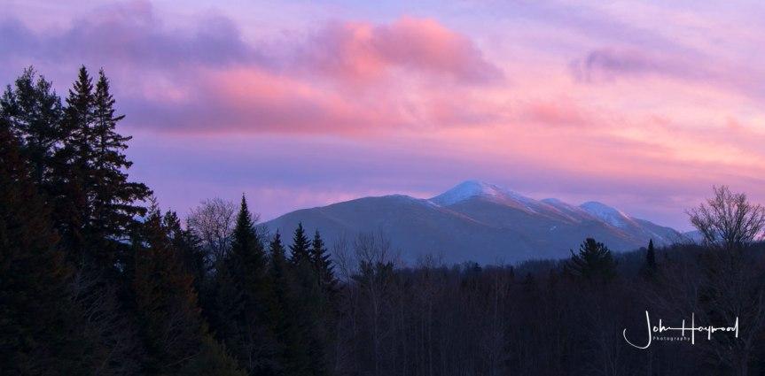 MacIntyre Range Sunset